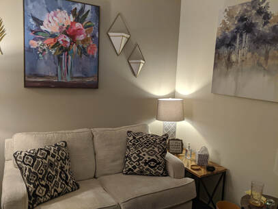 Photo of a therapy office at Inspired Life Counseling